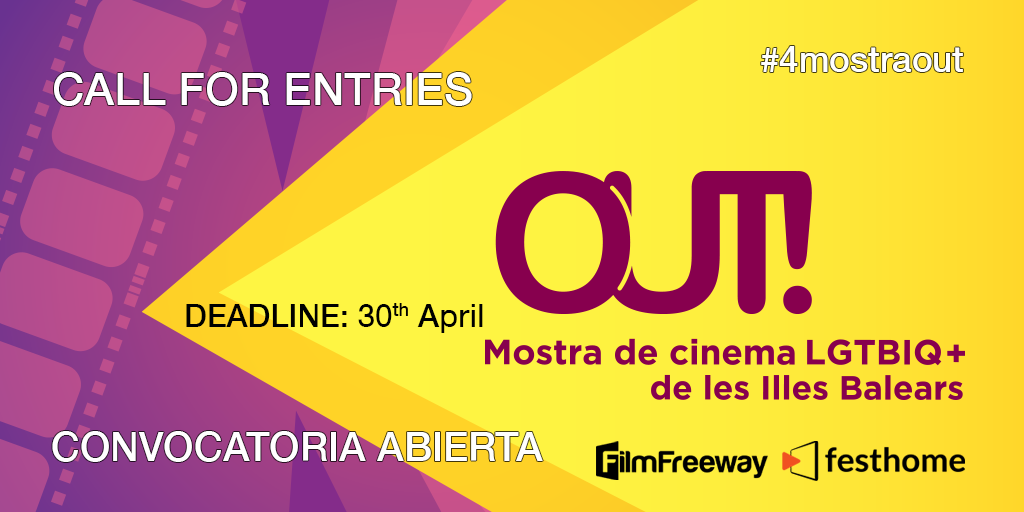 Mostra Out! opens the call for short films for its 4th edition